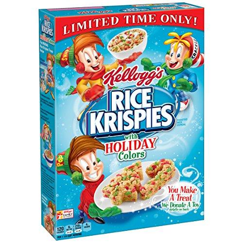 Rice Krispies Kellogg's, Holiday Colors, 9.9 - La In Malls Jolla