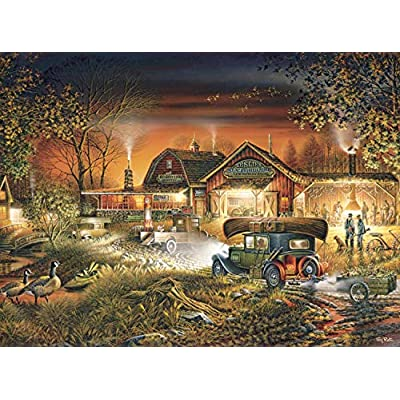 Buffalo Games - Terry Redlin - Morning Warm Up - 1000 Piece Jigsaw Puzzle: Toys & Games