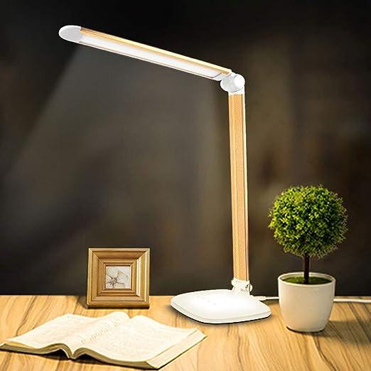 Xiao Fan ▷ * Materiales de Cobre Lámpara de Mesa de ángulo ...