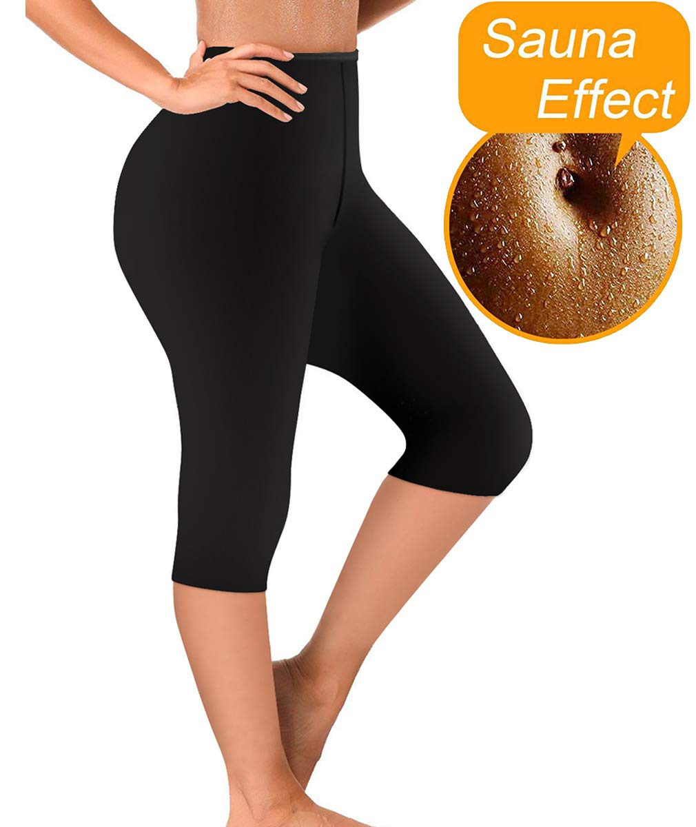29b7f81f81 Sauna slimming workout pants are cellulite pants that help reduce fatty and  our weight loss yoga shaper pants give you smoother feeling.Our sauna pants  heat ...