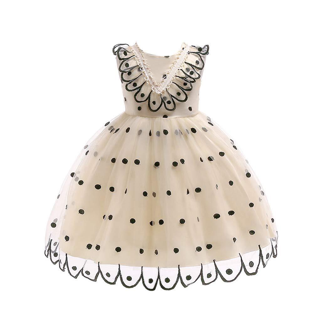 Suma-ma Polka Dot Printed Lace Dress Embroidered Peacock Princess Skirt Flower Girls Party Tutu Dresses