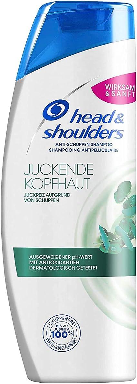 Head & Shoulders - Champú para cuero cabelludo con picor, Pack de 6 (6 x 300 ml): Amazon.es: Belleza