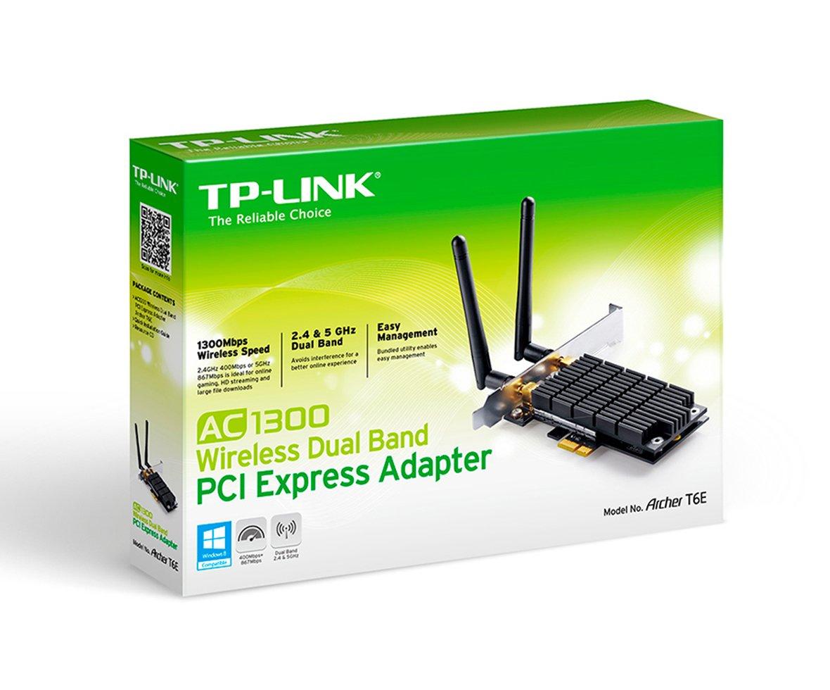 Amazon.com: TP-Link WL PCIe-Card 1300mb Archer T6E, ARCHER T6E: Computers & Accessories