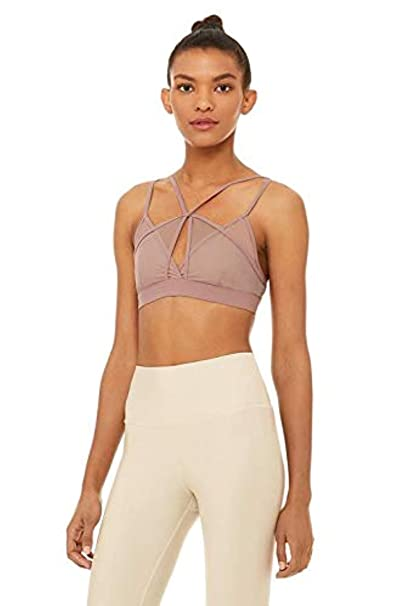 Alo Yoga Womens Diamond Bra at Amazon Womens Clothing store