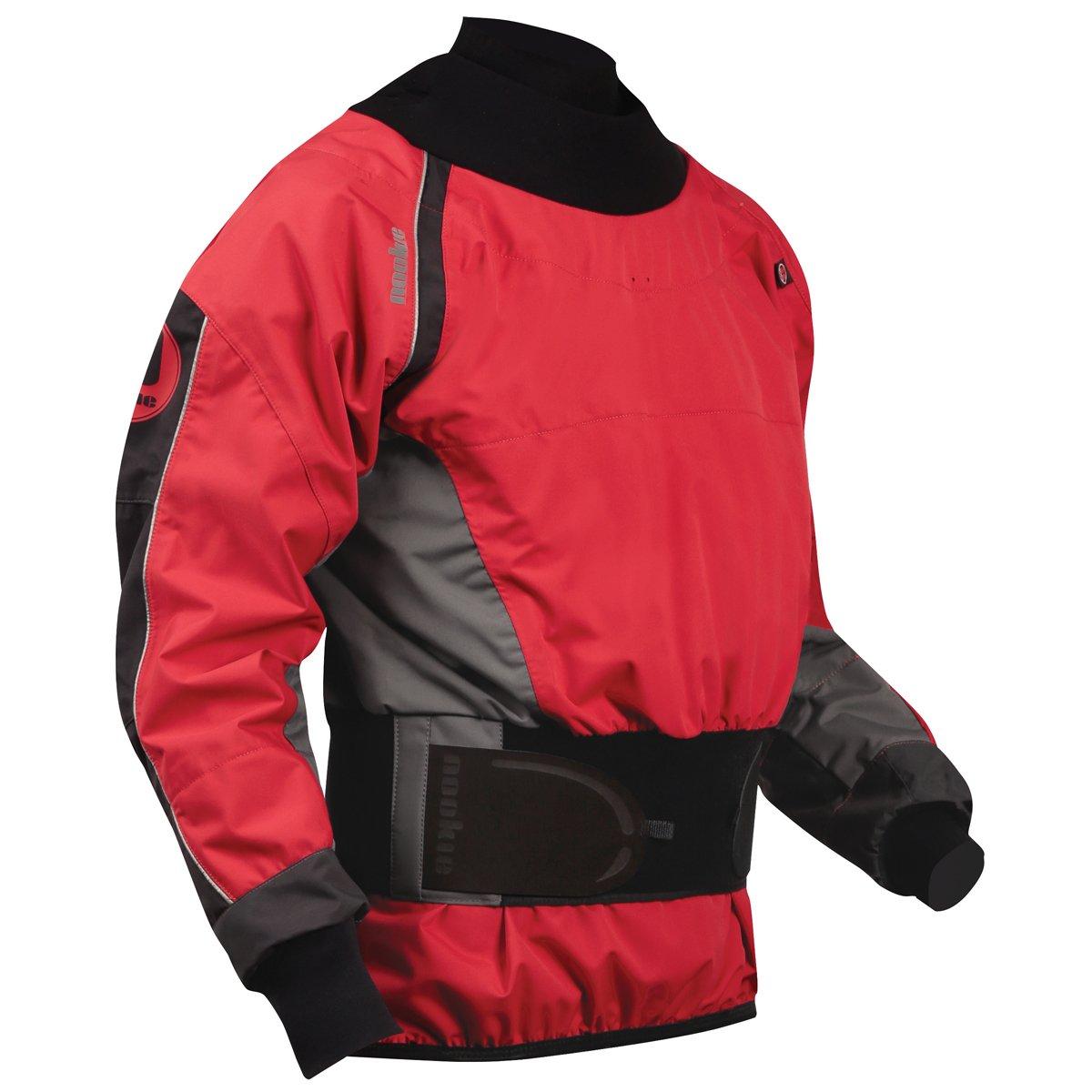 Nookie Cappotto Turbo White Water Coat Cappotto Lava Red Charcoal Grey Impermeabile e Traspirante