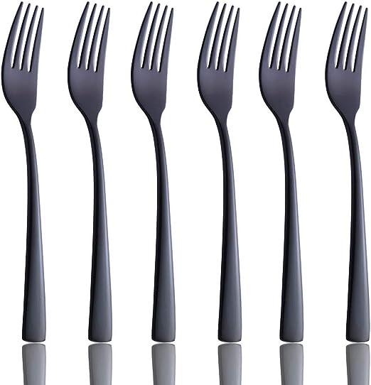 8 Oneida Deluxe Modern Antique Pattern Stainless Dinner Forks Lot//Set Unused!