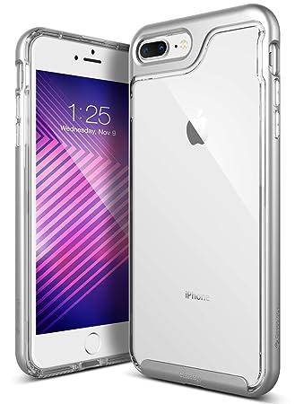 Carcasa para iPhone 8 Plus/iPhone 7 Plus [Skyfall Series] Transparente, Delgada, Resistente a los arañazos, protección contra caídas, para Apple ...