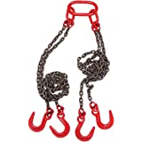 7//32 x 18 Liftall 732DOSW10X18 Sling Chain Double Oblong Hook