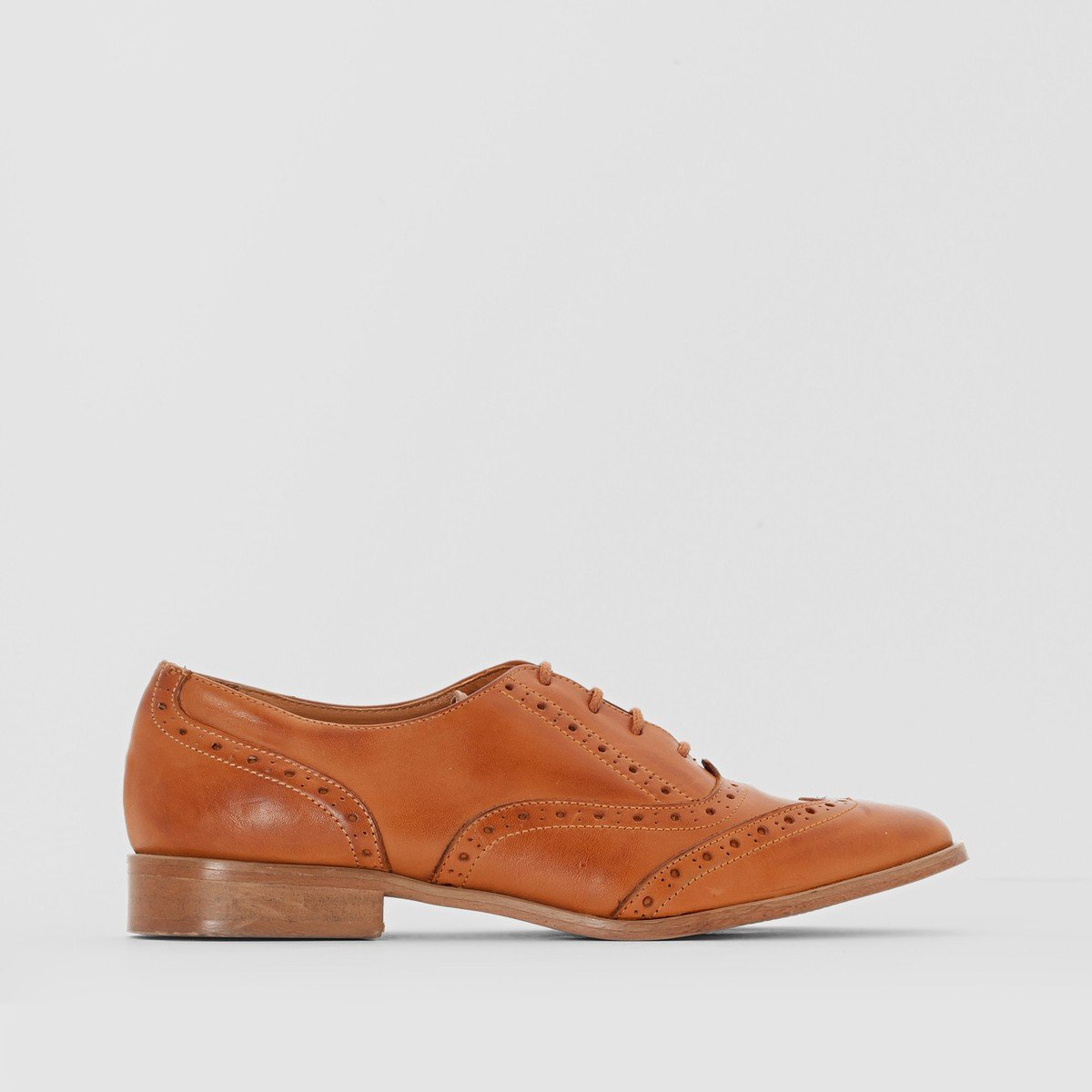 Anne Weyburn Womens Leather Lace Up Brogues Amazoncouk