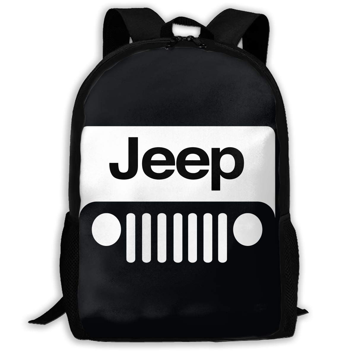Character Jeep Travel Laptop Backpack Business Anti Theft Slim Durable Laptops  Backpack Water Resistant College School Computer Bag for Women   Men Fits  17 ... ff056a207b