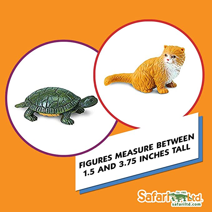 7ff978bf97 Amazon.com  Safari Ltd. Pets TOOB - Includes 12 BPA