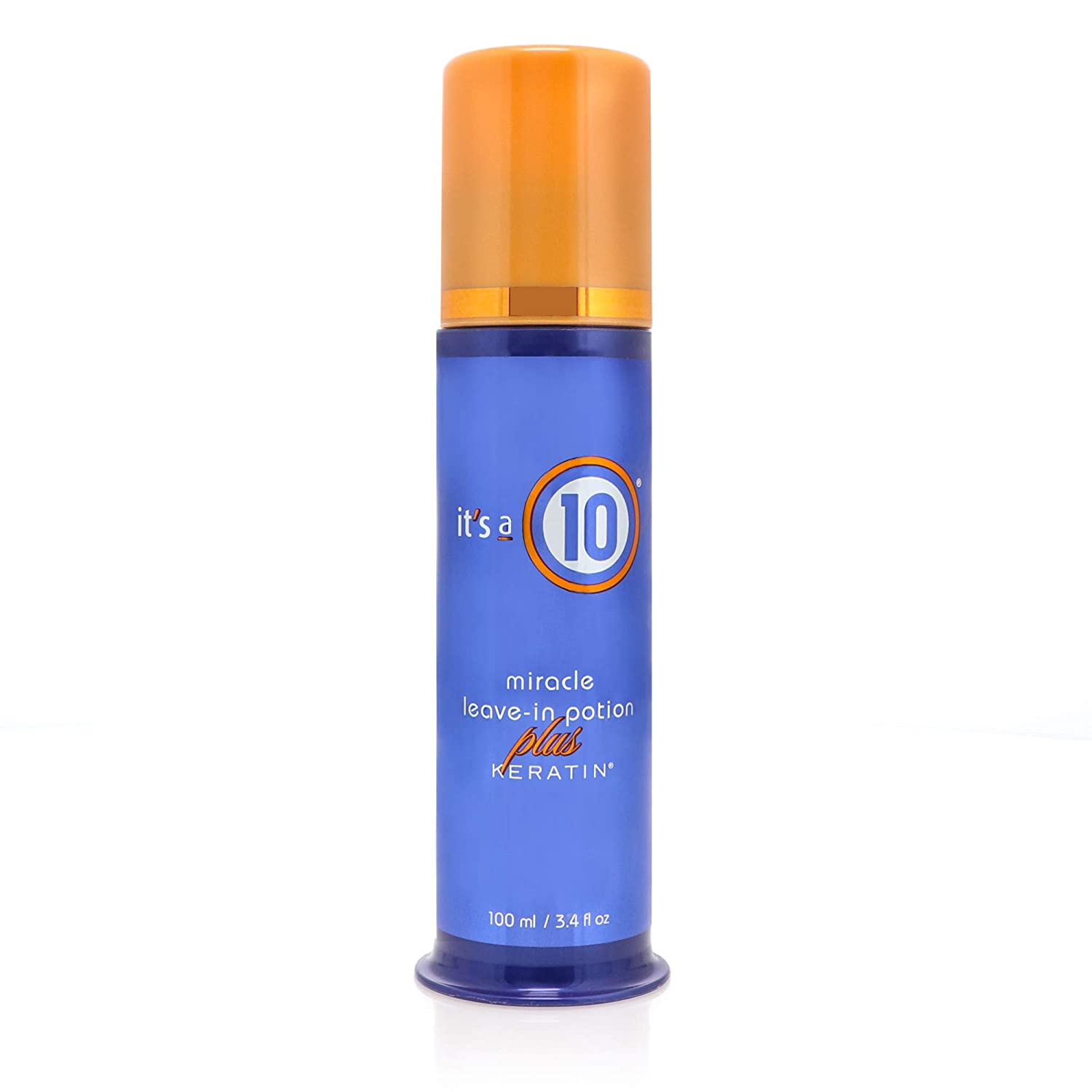 It's a 10 Haircare Miracle Leave-In Potion Plus Keratin, 3.4 fl. oz.