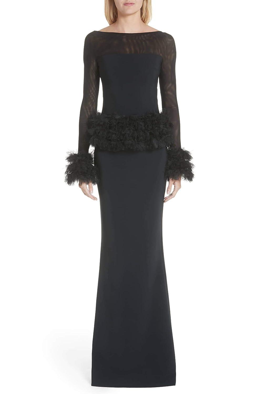 4bd6bdade1 Chiara Boni La Petite Robe Bibina Trumpet Gown (38 2) Black at Amazon  Women s Clothing store