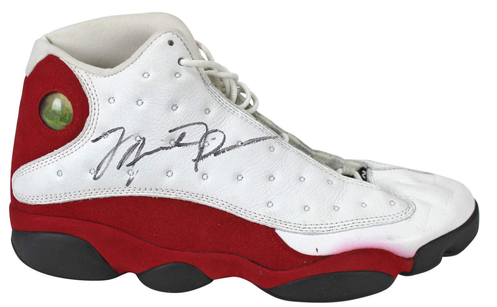 Bulls Michael Jordan Autographed Signed Game Used 4/17/1998 Nike Air Jordan Xiii Shoes JSA Authentic