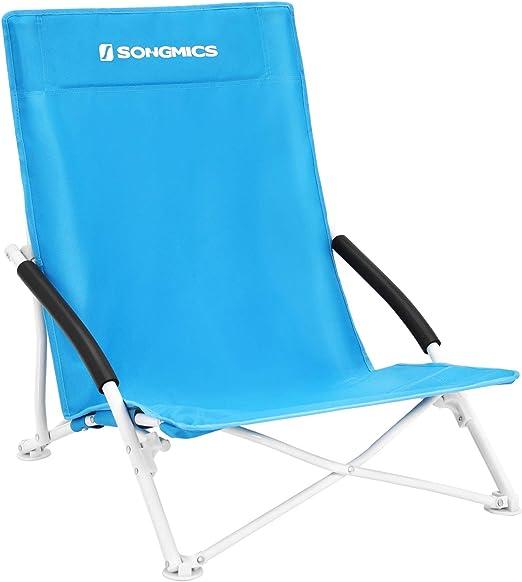 Folding Camping Fishing Double Chair Seat Beach Garden Outdoor Grey//Green//Blue