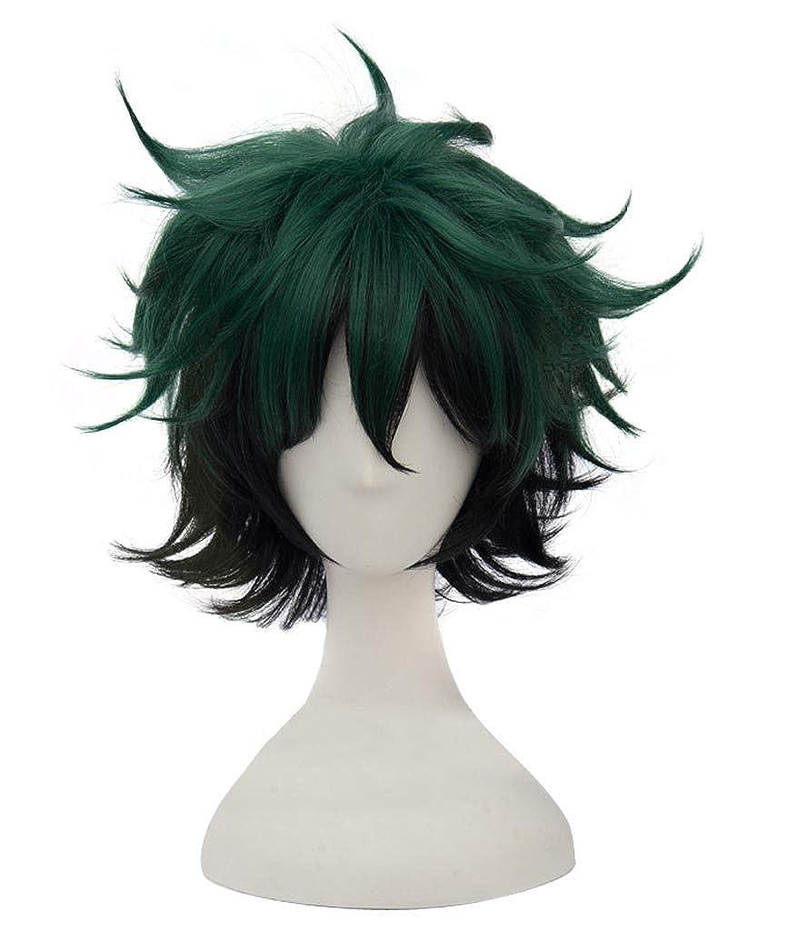 Dazcos My Boku no Hero Academia Midoriya Izuku Multicolor Cosplay Wig DAZCOS17122210