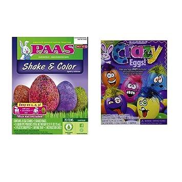 1d09839945a73c Amazon.com   Egg Dye - Easter Egg Dye Kits Set of 2 - PAAS Shake ...
