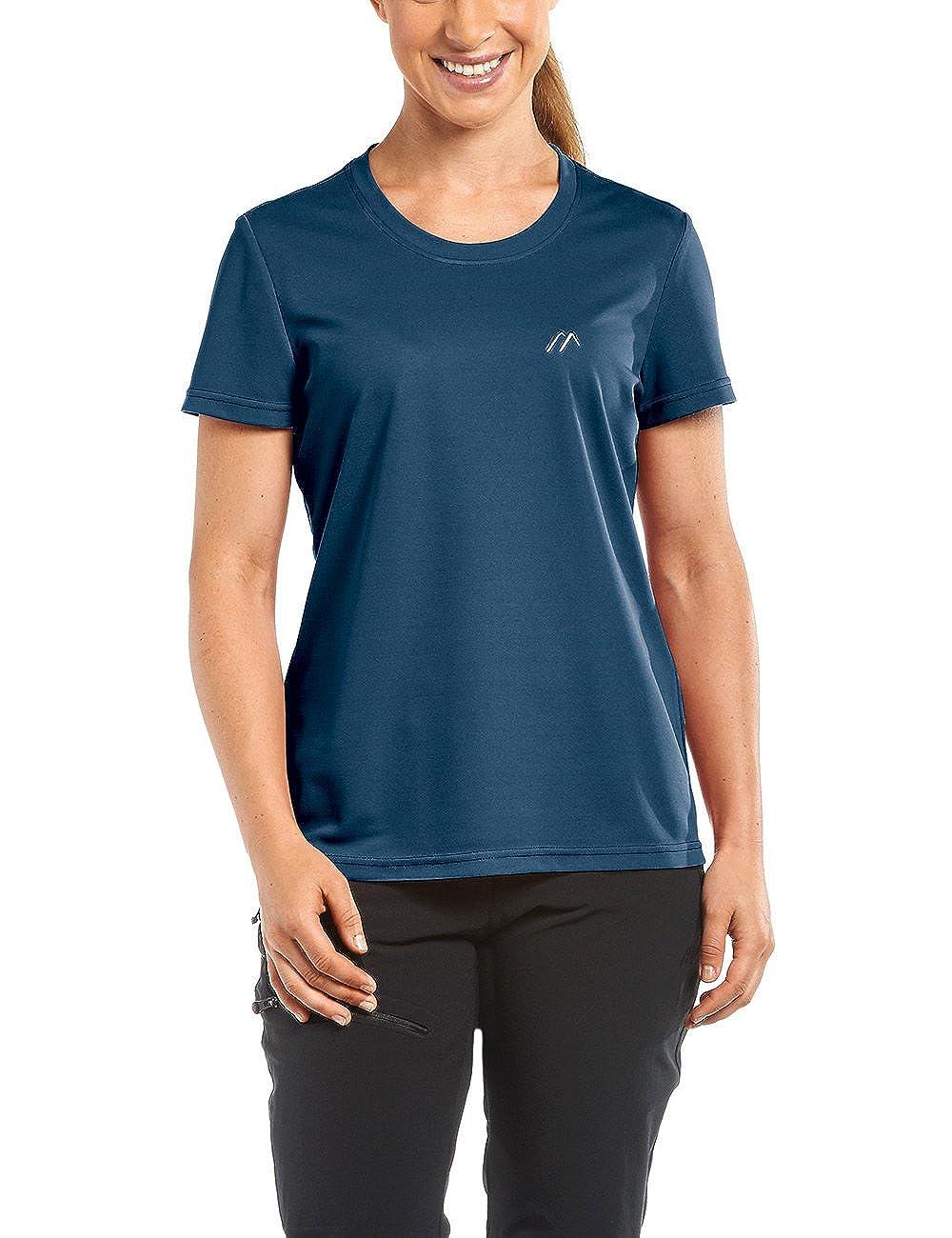 TALLA 40. maier sports Piquee Program - Camiseta para Mujer