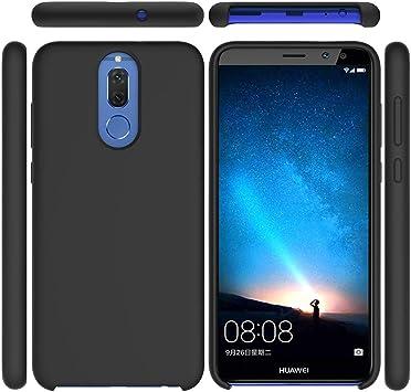 Funda Huawei Mate 10 Lite Líquido Silicona Suave Flexible Caso ...