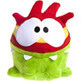 Cut The Rope - Peluche verde Om Nom super heroe 15cm - Calidad super soft