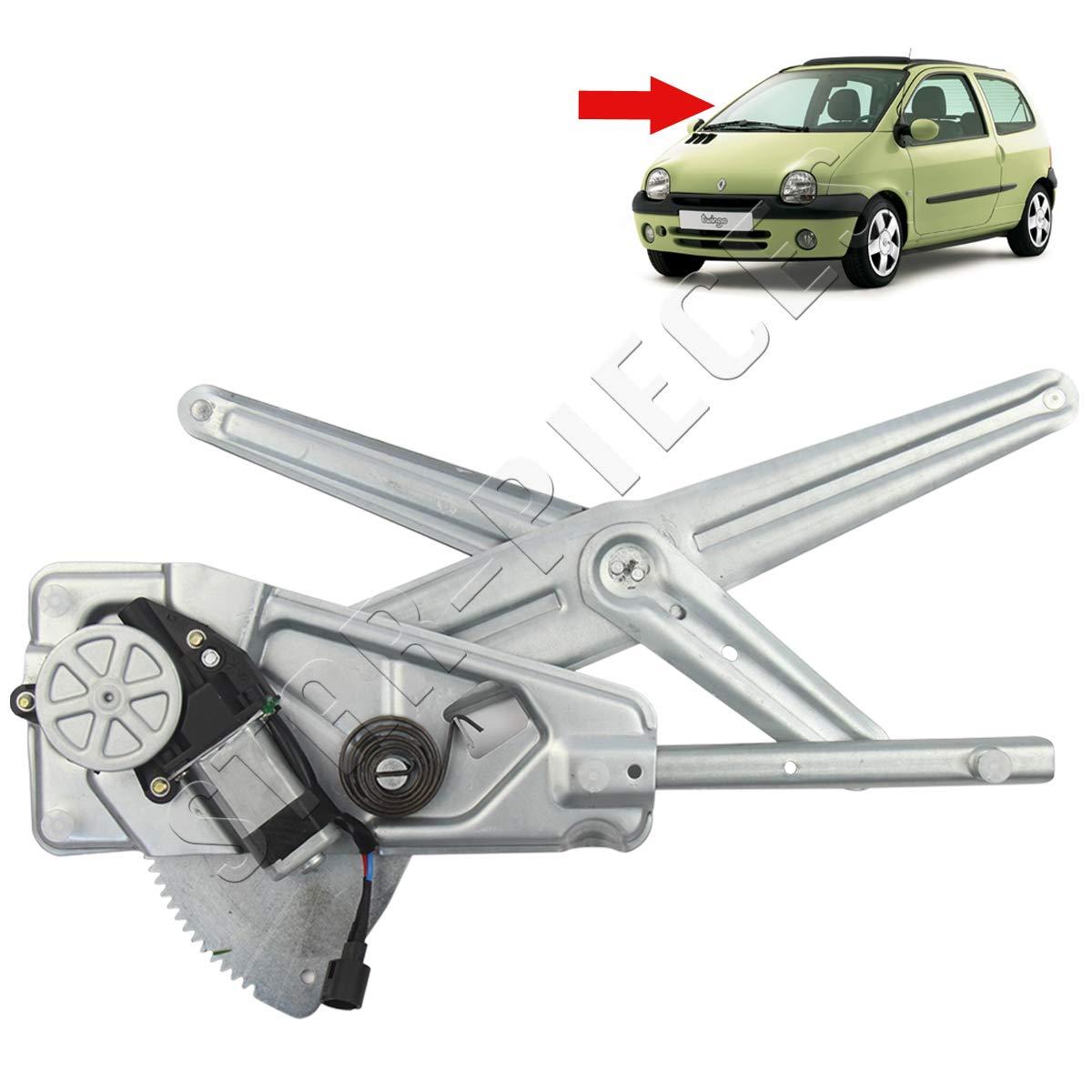 STARKIT PERFORMANCEFensterheber Elektrisch Vornes Rechts mit Motor f/ür Renault Twingo 1 von 1993 bis 2007.