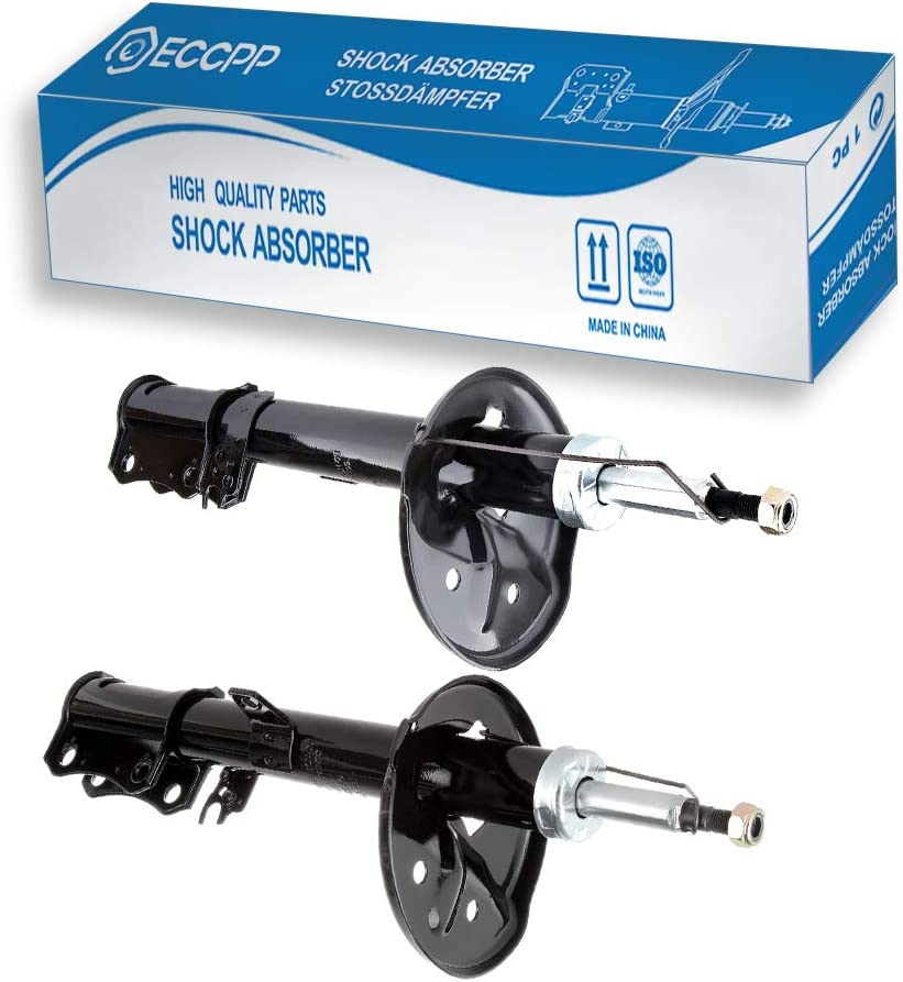 Shocks and Struts,ECCPP Rear Pair Shock Absorbers Strut Kits Compatible with 1999 2000 2001 2002 2003 Lexus RX300 334269 72103 334270 72104