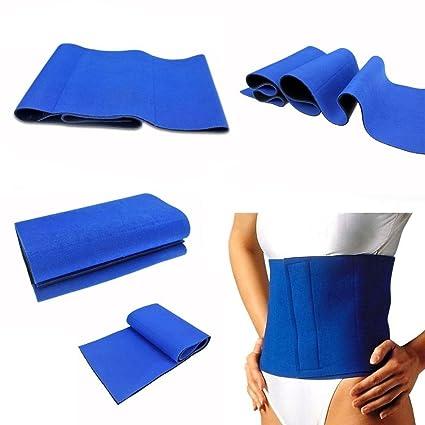 Bandagen & Gelenkstützen Fitness & Jogging Waist Trimmer Exercise Wrap Belt Slimming Burn Fat Sweat Weight Loss Body Shapab