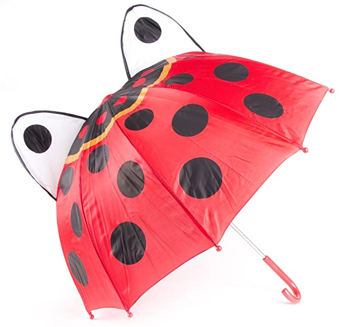 ff72861a3a5fc Image Unavailable. Image not available for. Color: Cloudnine Children's  Ladybug Umbrella Full Size
