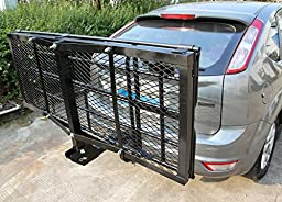 Merax Foldable Cargo Carrier Basket Luggage Rack with 2\