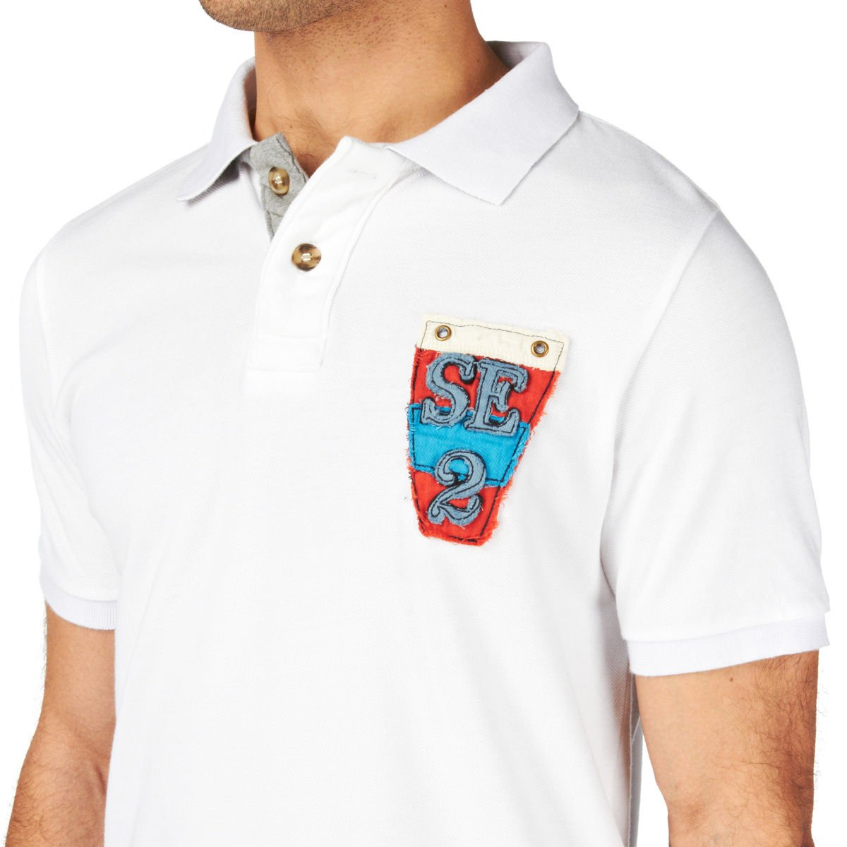 Quba - Polo - Moda - para hombre blanco blanco: Amazon.es: Ropa y ...