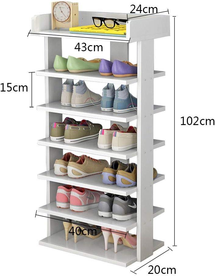 Scaffale per Scarpe per Scarpe Stivali Scaffale modulare per riporre Gli spazi PREMAG Torre per riporre Gli Scarponi Portatili Pantofole 2 * 7