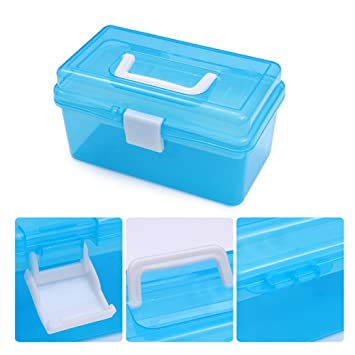 Amazoncom NICOLE DIARY 1Pc Empty Storage Box 2 Layers Plastic