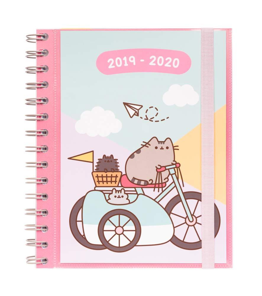 Amazon.com: Pusheen Gold 2019/2020 - Agenda escolar semanal ...