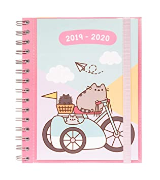 Pusheen Gold 2019/2020 Week to View Academic Diary