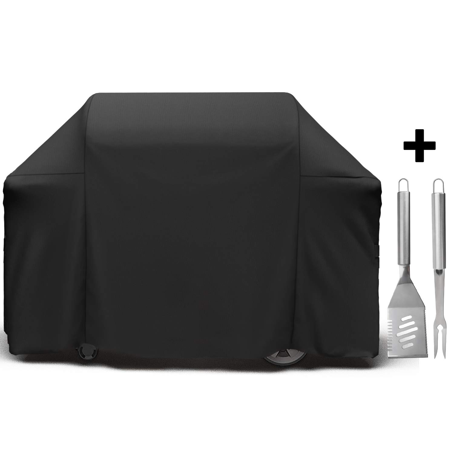 SHINESTAR 65 inch Grill Cover for Weber Genesis 4 Burner Grill, 7131 Grill Cover for Weber Genesis Grill/Genesis II E-410/Genesis 410/Genesis II E-435, Gas Grill Cover Fit All Genesis 400 Series Grill