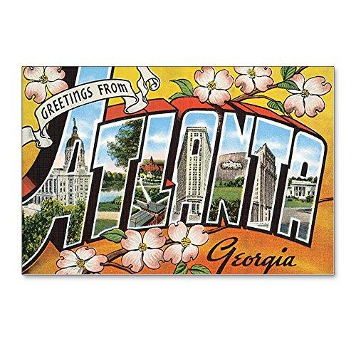 CafePress - Atlanta Georgia Postcard - Postcards (Package of 8), 6