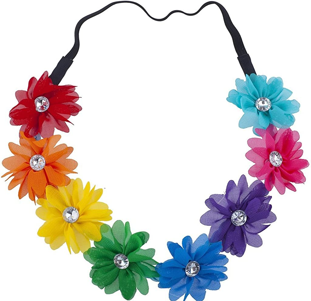 Lux Accessories Floral...