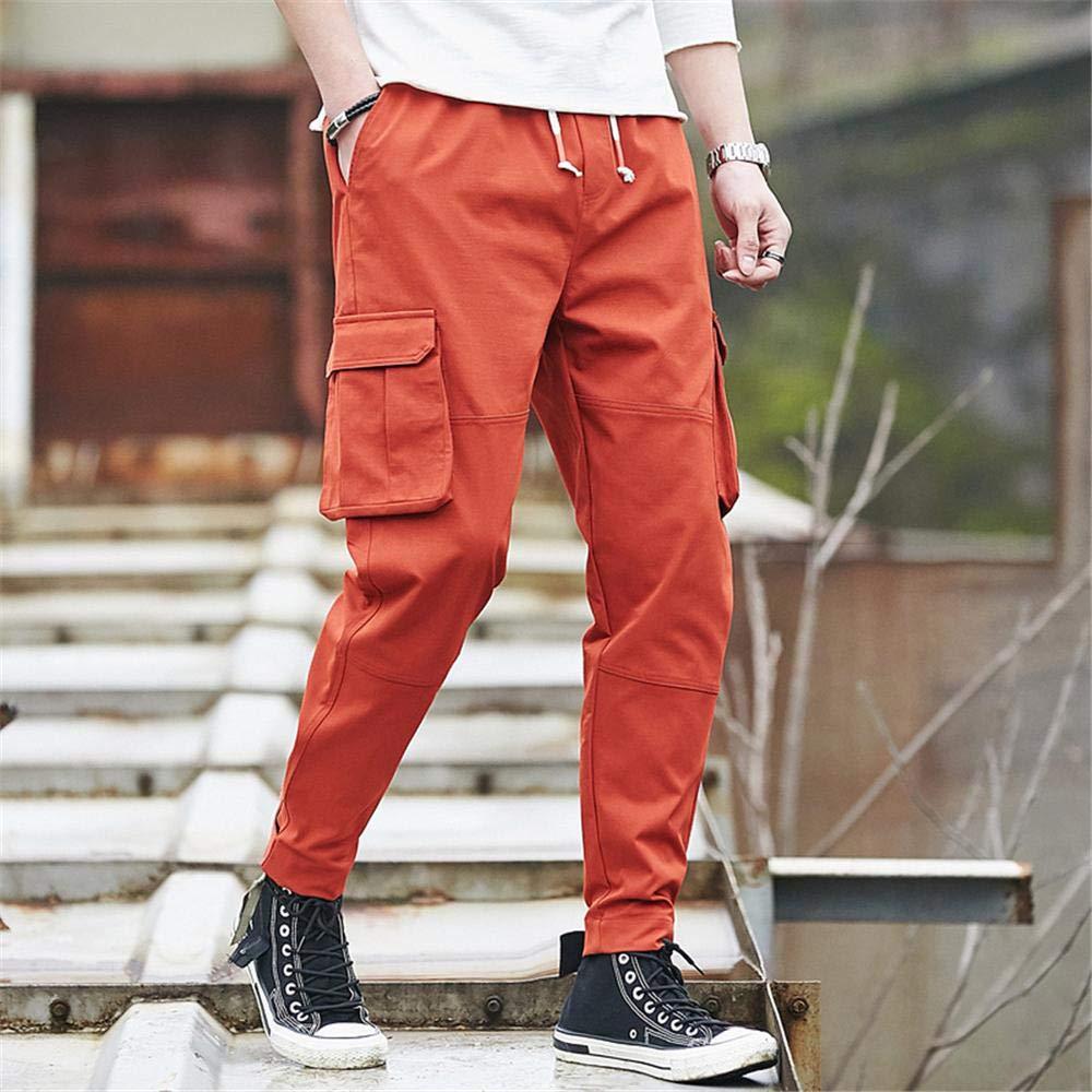 Uteruik Pantalón Deportivo para Hombre Causal Pantalones para ...