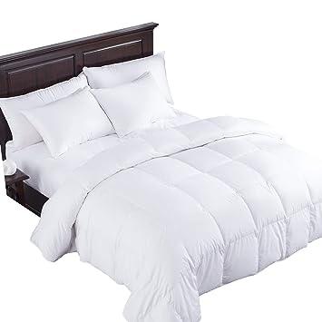 heavy king size comforter Amazon.com: puredown Heavy Goose Down Comforter 400 Thread Count  heavy king size comforter