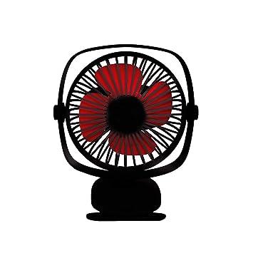 WOZOW eléctrico de enfriamiento cochecito, ventilador de mesa Mini ventilador de mano escritorio personal portátil, ventilador: Amazon.es: Hogar