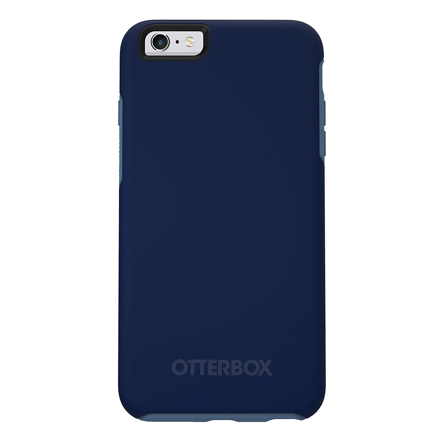 OtterBox Ultra Slim Symmetry Series Case for Apple iPhone 6 Plus / 6S Plus 5.5in - Blueberry (Admiral Blue/Dark Deep Water Blue) (Renewed)