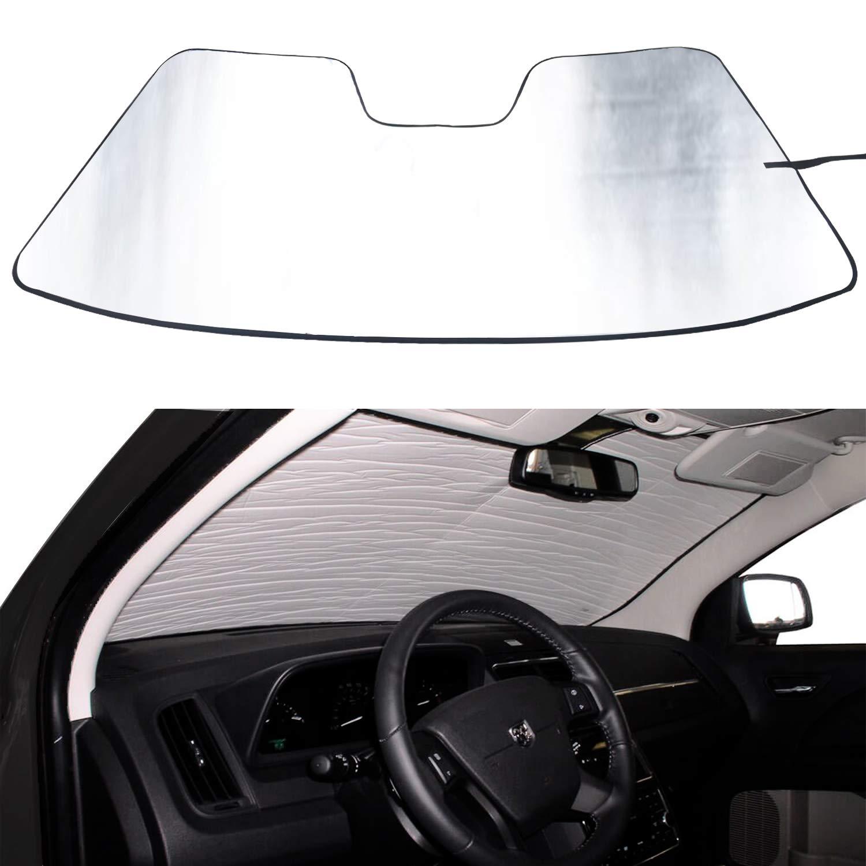Amazon.com  AVOMAR Front Windshield Sunshade Heat Shield Sun Shade  Custom-fit for 2009-2018 Dodge Ram 1500 RAM  Automotive 0939d2576a4