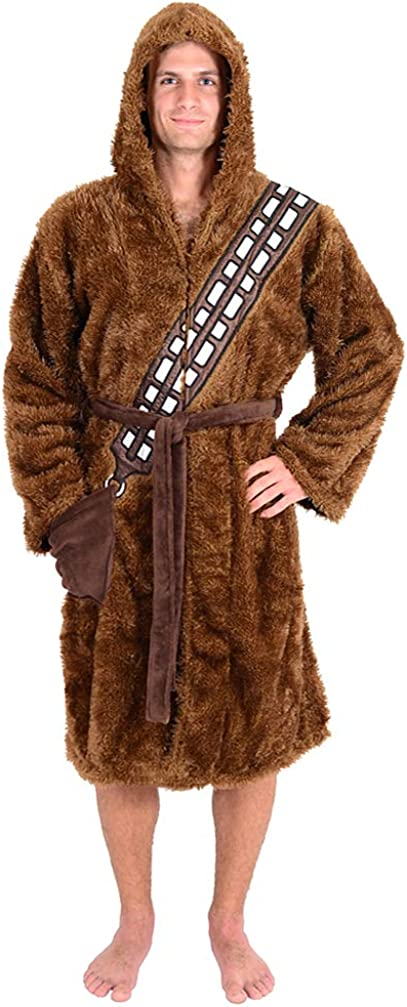 Star Wars Chewbacca Adult Bathrobe & Swim Suit Cover Up Standard at  Women's Clothing store