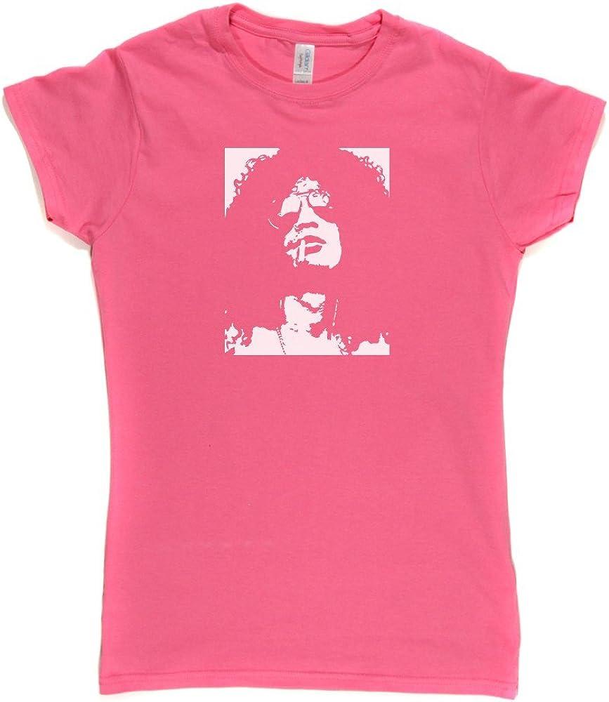 Slash Portrait Womens Fitted T-Shirt