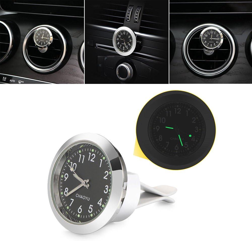 Universal Luminous Car Clock Decoration FORNORM Car Clock Mini Quartz Watch Car Dashboard Clock