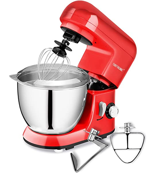 Healthy Choice 1200W Mix Master 5L Kitchen Stand Mixer w//Bowl//Whisk//Beater