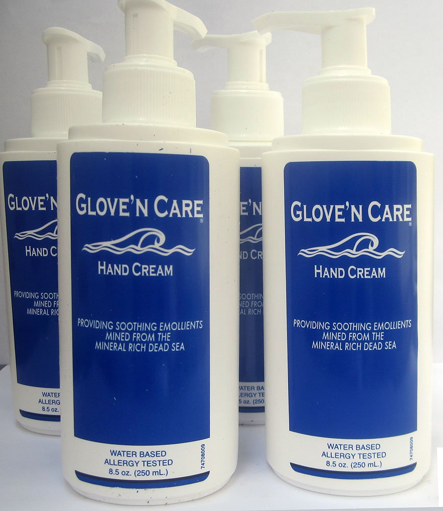 Glove'n Care Hand Cream, 250 ml Pump (8.5 oz), 4/cs