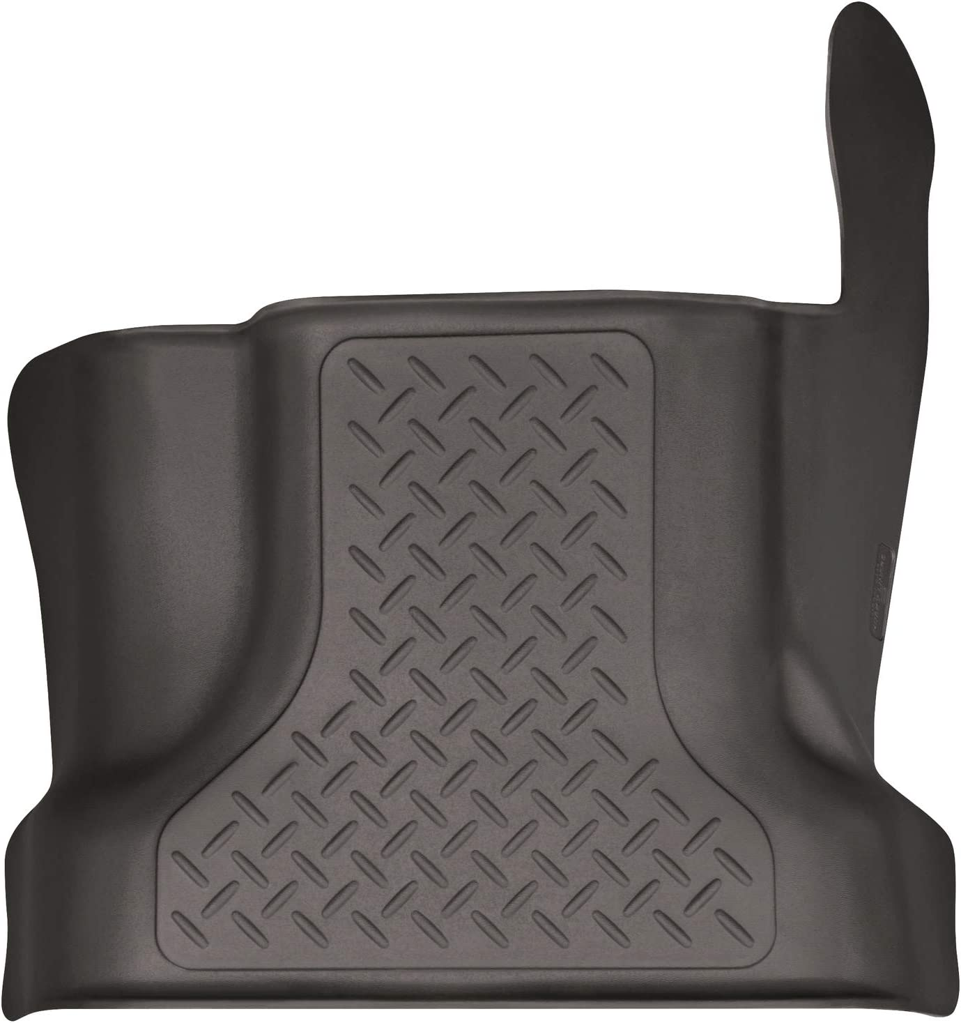 Footwell Coverage Husky Liners Fits 2015-19 Ford F-150 SuperCrew X-act Contour 2nd Seat Floor Mat