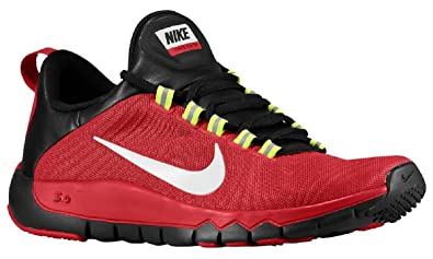 85cfc1381f28 ... store nike free trainer 5.0 v5 mens red white training shoes 11.5 6552b  b1253