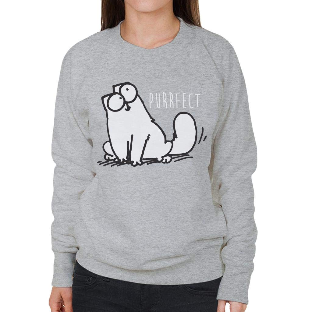 Simon's Cat Purrfect Women's Sweatshirt